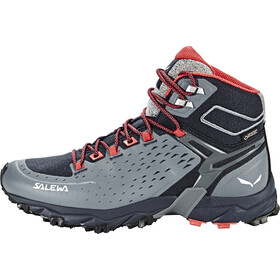 SALEWA Alpenrose Ultra Mid GTX Zapatillas Mujer, night black/mineral red